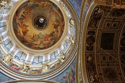 Нажмите на изображение для увеличения Название: Купол собора изнутри.jpg Просмотров: 213 Размер:98.7 Кб ID:1095